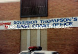 Moving State Government banner; July 1989