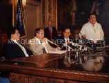 LCO-State gaming compact announcement; August 16, 1991