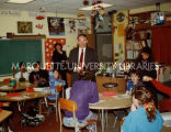 DARE class visit; March 11, 1992