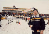Snowmobile Derby; January 1986