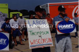 Labor for Thompson campaign event; 1998