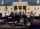 Start of Harley ride to Washington D.C.; June 19, 1998