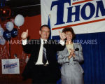 Re-election candidacy announcement in Janesville; May 1990