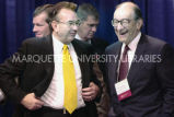 Tommy Thompson with Alan Greenspan, ca. 2001-2002