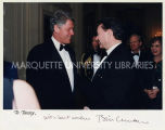 President Bill Clinton and Tommy Thompson, January 30, 1994