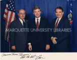 Jim Klauser, Dan Quayle, and Tommy Thompson, ca. 1989-1992