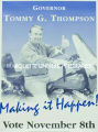 """Making It Happen"" election poster, ca. 1998"