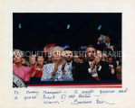 Barbara Bush and Tommy Thompson at Republican National Convention, August 18, 1992