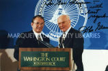 Tommy Thompson and John Glenn, October 21, 1993