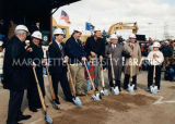 Miller Park groundbreaking; November 9, 1996