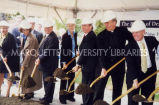 Marquette Dental School groundbreaking; October 31, 2000
