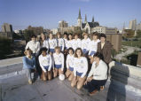 Women's Volleyball Team, 1981