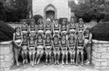 Women's cross-country team, 1984