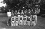 Women's cross-country team, 1982