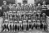 Women's cross-country team, 1985