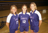 Senior volleyball players, 1999