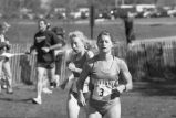 Jessica (Berlowski) Lawton runs outdoor race, 1996