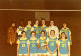 Women's volleyball team, 1975