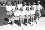 Women's Tennis Team, 1991-1992