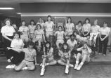 Women's basketball team, 1987