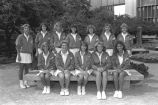 Women's Tennis Team, 1986