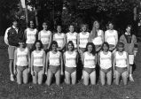 Women's cross-country team, 1993