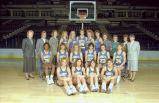 Women's basketball team, 1989