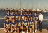 Women's basketball team, 1984-1985