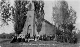 St. Mary's Church, Kinepoway, Wisconsin, 1895? - 1920?
