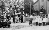 Church procession at St. Joseph's Indian School, 1915? - 1930?