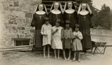 School Sisters of St. Francis and girls, 1932