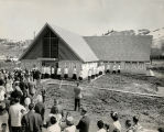 Church dedication in Nespelem, 1955? - 1963?