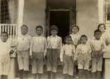 Ute children, 1924
