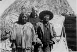 Rev. Vincent Arbeiter with an Apache couple, 1939