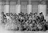 School group at Hooper Bay, 1937?