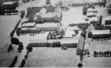 Aerial view of St. John the Baptist Mission, 1941?