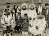 Natives of Diomede Islands residing in Nome, 1924 - 1930?