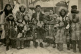 A family in parkas, 1924 - 1930?
