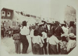 Fiesta dance at Acoma, another view, 1900? - 1920?