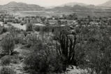 View of Catholic mission in Ajo, Arizona, 1946?