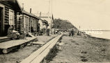 Main Street of Nulato, Alaska, 1928? - 1942?
