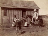 Ute family in traditional dress, 3 of 3, n.d.