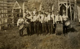 St. John's School band, 1915? - 1930?