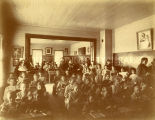 Elementary-level students at St. Mary's Academy, 1900? - 1920?