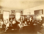 Secondary-level students at St. Mary's Academy, 1900? - 1920?