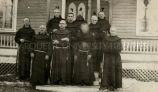 Franciscans at Keshena, 1915 - 1916