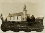 St. Joseph's Church in Lac du Flambeau, WI, 1899?