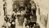 Bishop Navarette of Sonora at San Xavier del Bac Mission, 1928