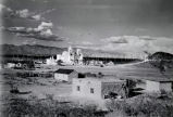 San Xavier Mission from a distance, 1946?