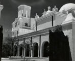 Cloister of San Xavier del Bac Mission, 1961